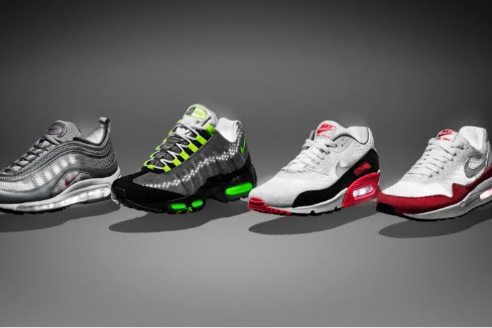 Nike перекрасил кроссовки Air Max 1иAir Max 90