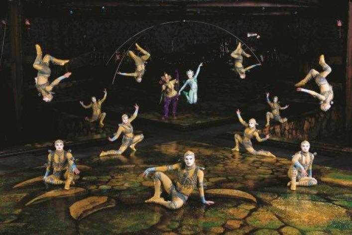 Цирк дю Солей: шоу