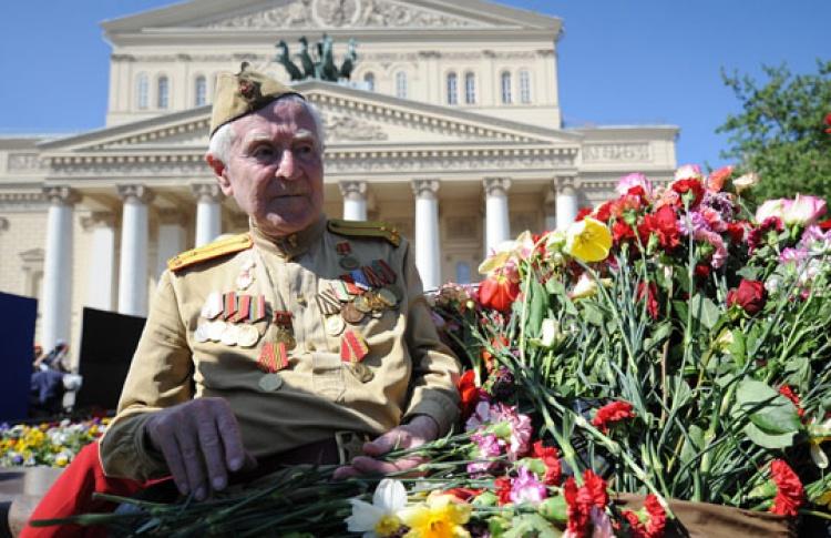 Встреча ветеранов у Большого театра
