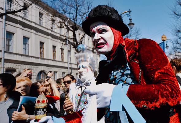 Парад Cirque duSoleil - Фото №1