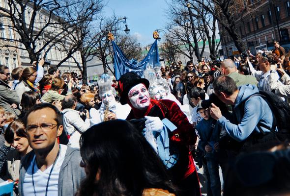 Парад Cirque duSoleil - Фото №2