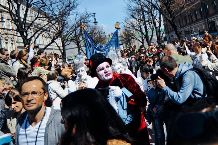 Парад Cirque duSoleil