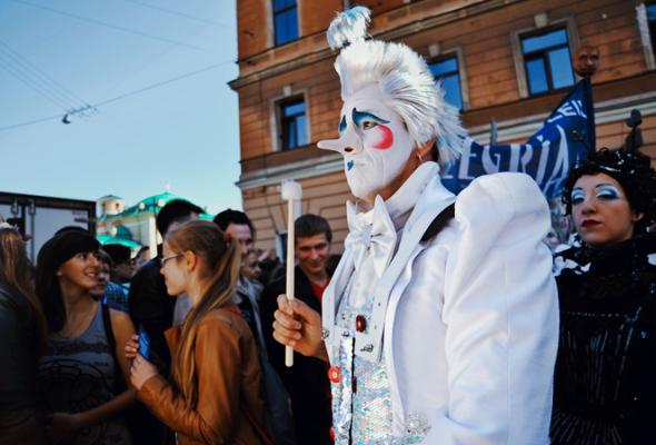 Парад Cirque duSoleil - Фото №3
