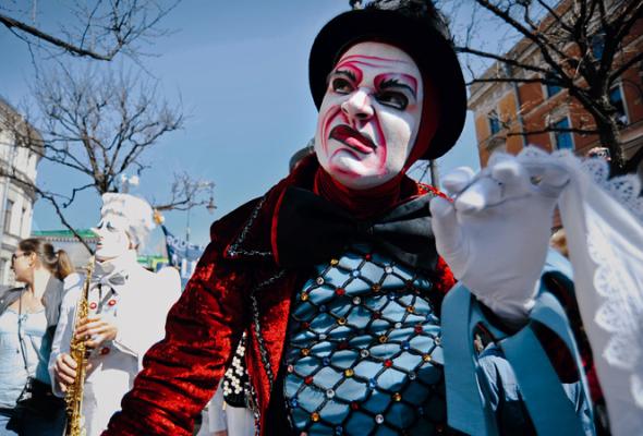 Парад Cirque duSoleil - Фото №7