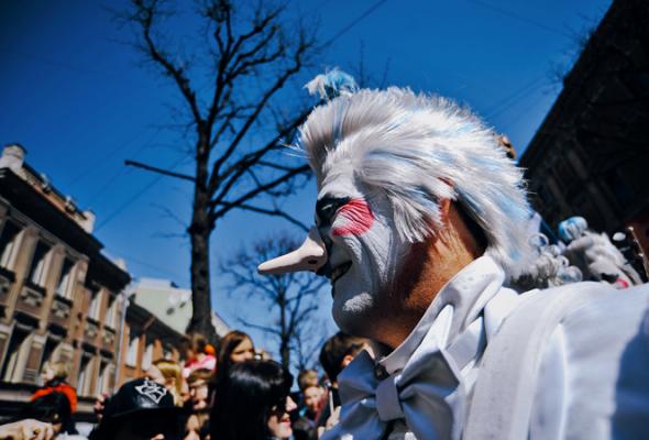 Парад Cirque duSoleil - Фото №8