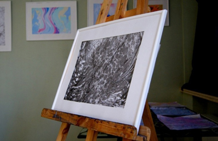 Эбру. Рисование на воде