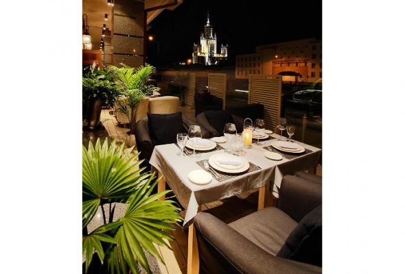 Летние веранды ресторанов - Фото №2