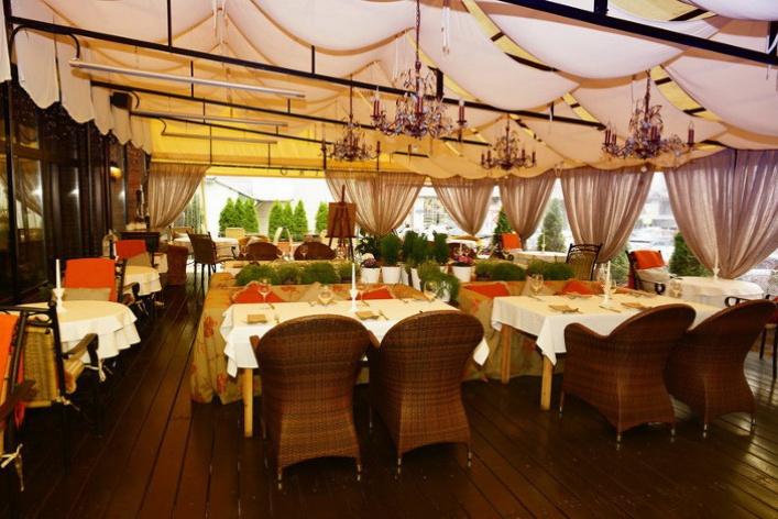 Летние веранды ресторанов