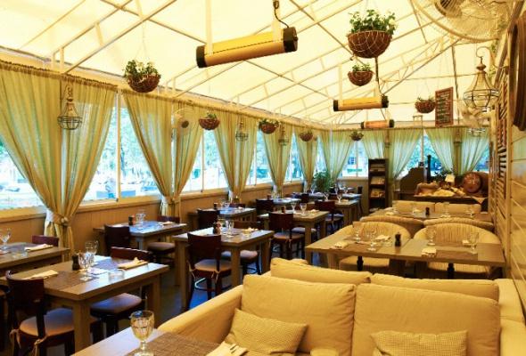 Летние веранды ресторанов - Фото №9