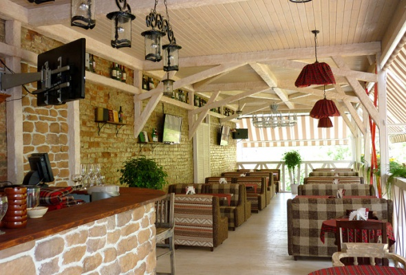 Летние веранды ресторанов - Фото №17