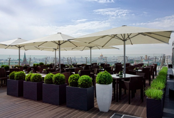 Летние веранды ресторанов - Фото №20