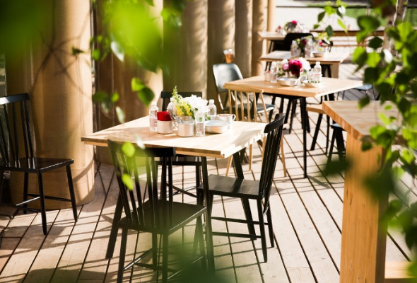 Летние веранды ресторанов - Фото №10