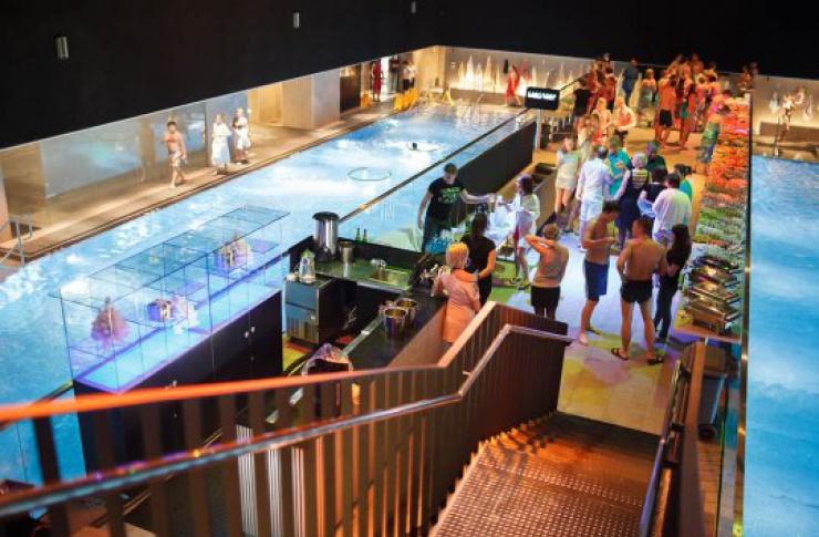 Вечеринки в акваклубе VODA