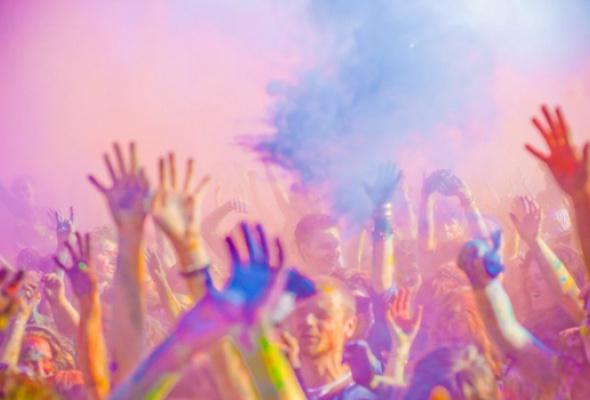 "Фестиваль красок ""Холи""-2013 - Фото №2"