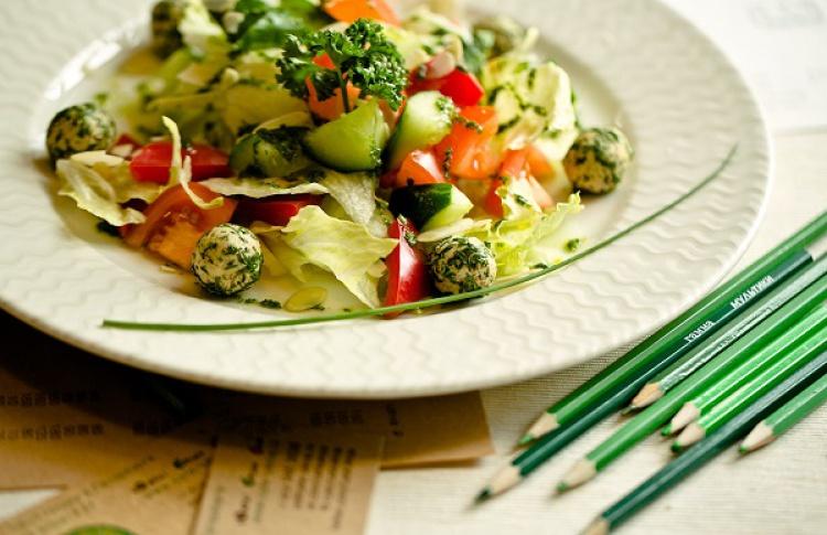 Летнее меню в вегетарианском стиле