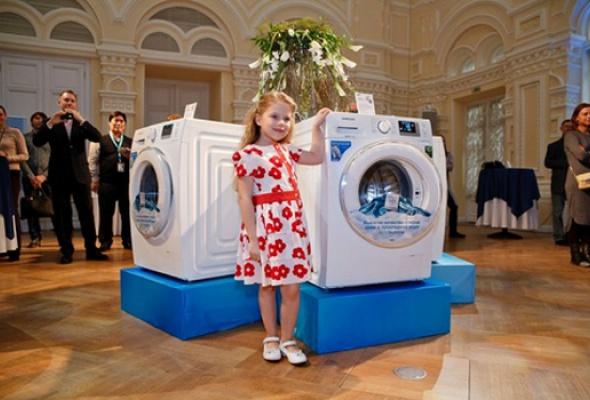 Компания Samsung представила новую стиральную машину Samsung EcoBubble серии Crystal - Фото №0