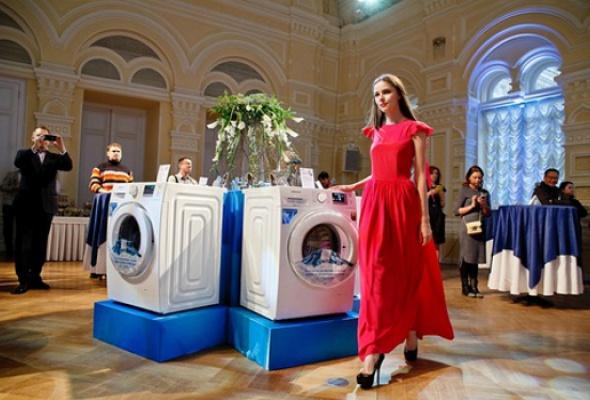 Компания Samsung представила новую стиральную машину Samsung EcoBubble серии Crystal - Фото №1