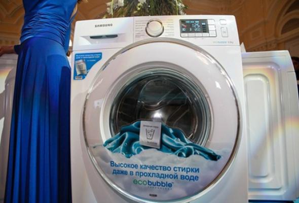 Компания Samsung представила новую стиральную машину Samsung EcoBubble серии Crystal - Фото №2