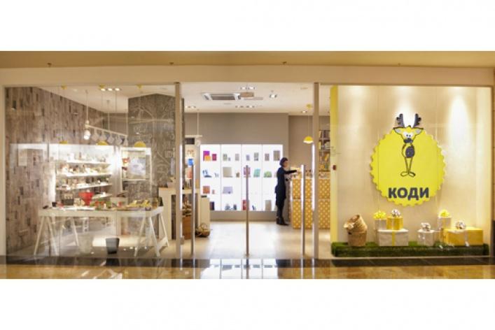 Вмае открылся первый вМоскве магазин канцелярки особенного дизайнерского исполнения, сокращенно КОДИ