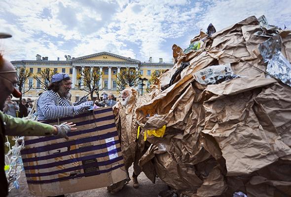 Полунин ссоратниками выгуляли мусор - Фото №4