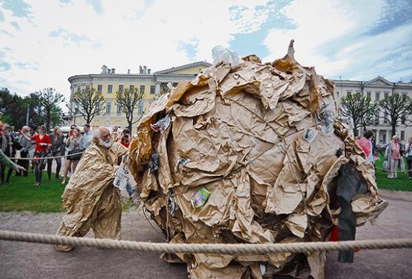 Полунин ссоратниками выгуляли мусор - Фото №5