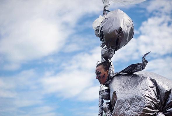 Полунин ссоратниками выгуляли мусор - Фото №6