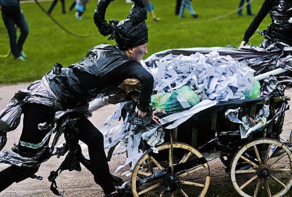 Полунин ссоратниками выгуляли мусор - Фото №7