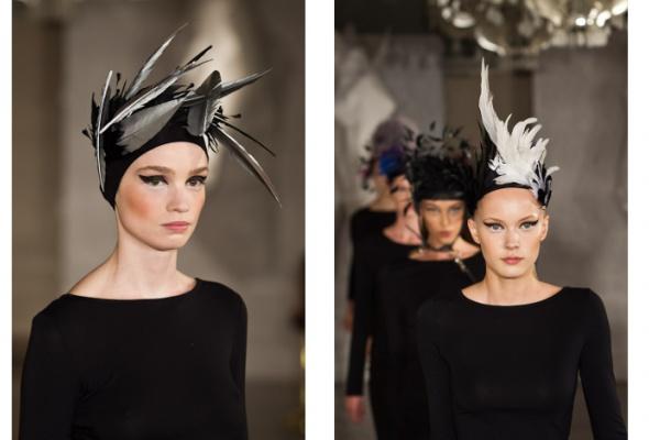 Konstantin Gayday создал коллекцию шляпок для скачек - Фото №12