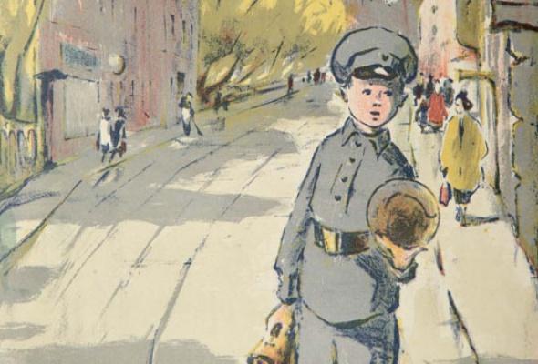 Город Ахматовой. Ленинградская литография. 1920-1960-е - Фото №1