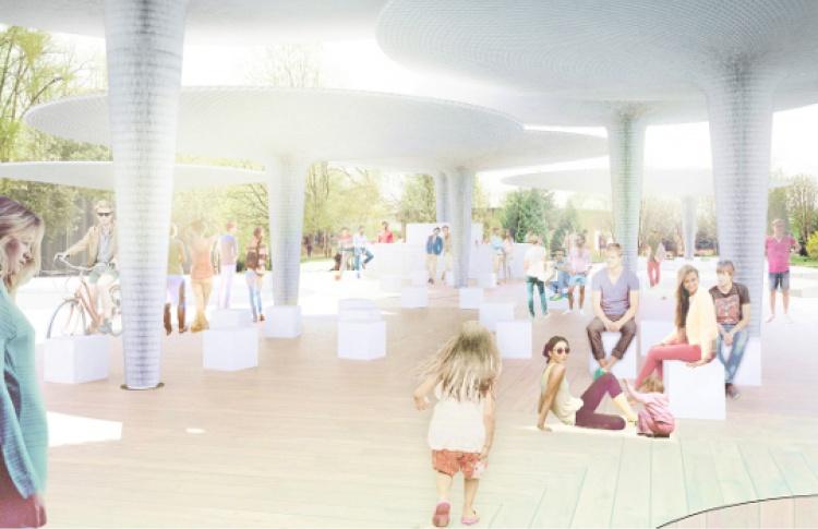 У«Гаража» появится летняя площадка