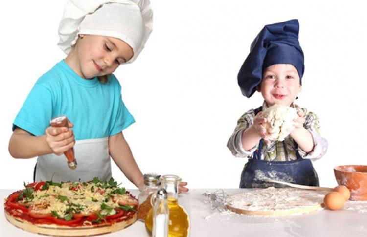 Детский бранч, посвященный итальянской кухне