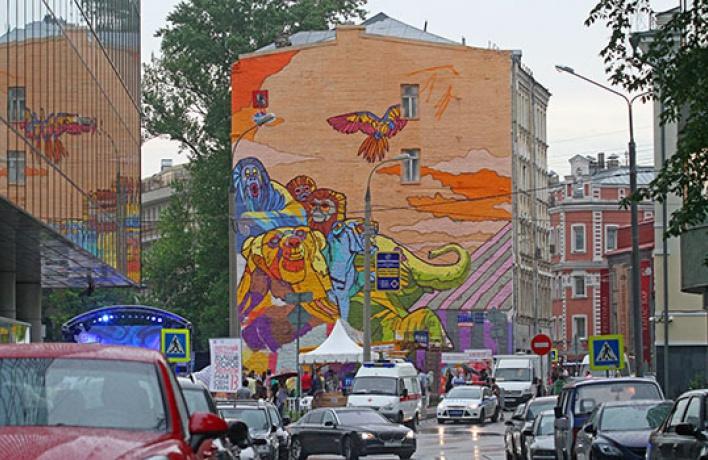 Город украсит сотня новых граффити