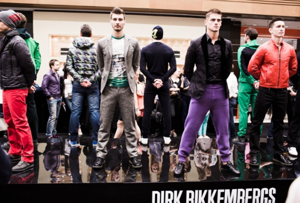Специальный показ Dirk Bikkembergs вЦУМе - Фото №2