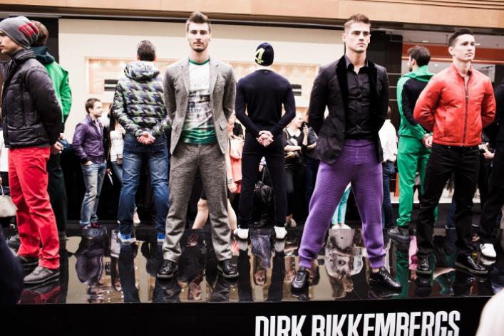 Специальный показ Dirk Bikkembergs вЦУМе
