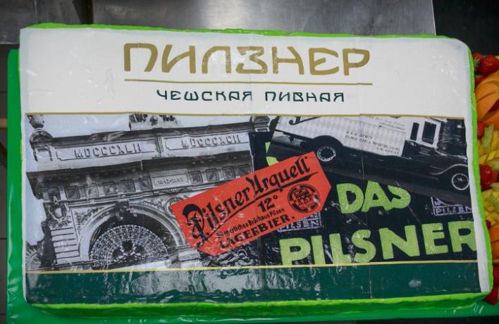 ВМоскве открылся пятый ресторан «Пилзнер Чешская Пивная»