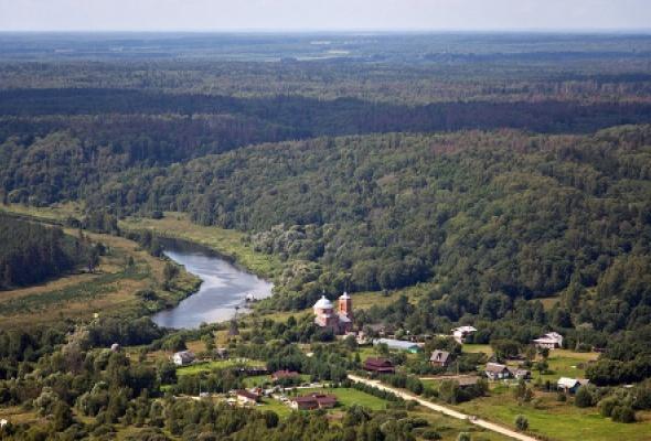 Деревня Никола-Ленивец - Фото №0