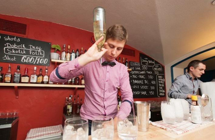 Новое место: Jimmy Yeltsin Bar
