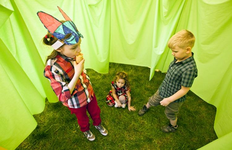 """Детский приключенческий лагерь """"Трикубитус"""": """"Индейцы"""""""