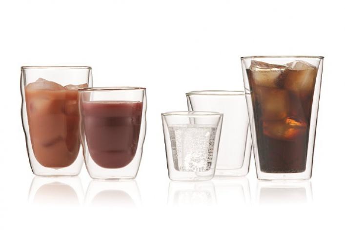 Дизайнерские бокалы Bodum Pilatus