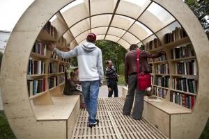 Книги в парках