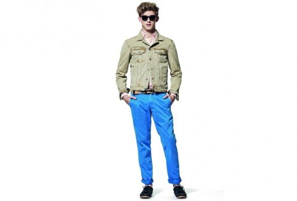 Где искать цветные джинсы для мужчин - Фото №0
