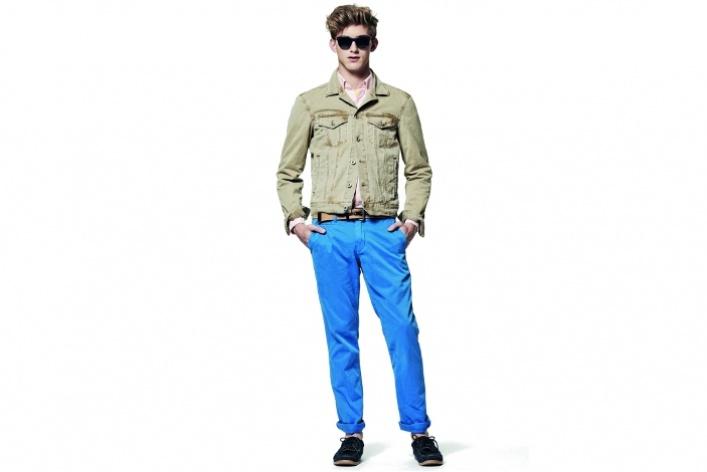 Где искать цветные джинсы для мужчин