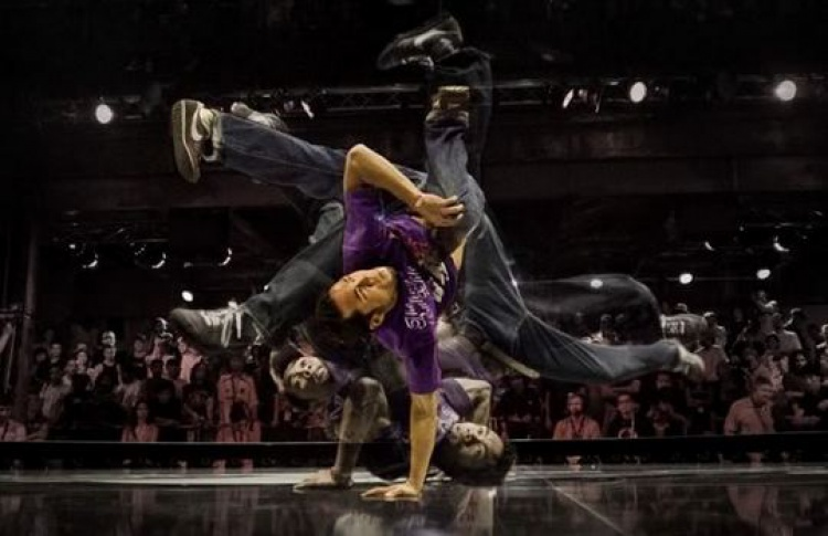 BC One: B-Boy Ronnie (USA) & B-Boy Wing (KOR)