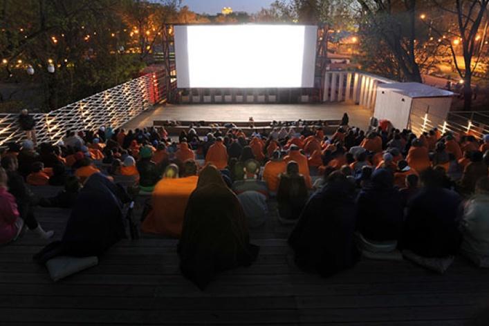 Главные летние кинотеатры Москвы
