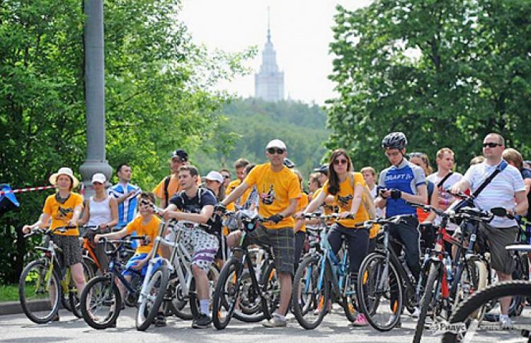 Второй московский велопарад