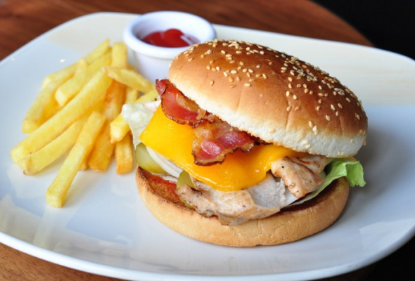 Бургеры со стейками - Фото №0