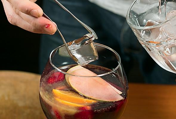 Безалкогольная клубничная сангрия - Фото №4