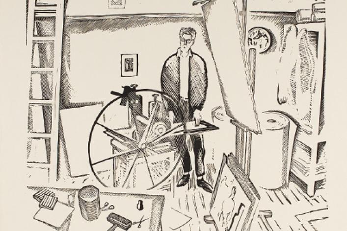 Илларион Голицын. Из собрания ГМИИ им. А.С. Пушкина и семьи художника