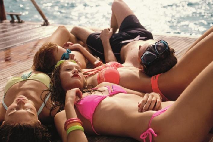 OVS выпустили коллекцию пляжной одежды