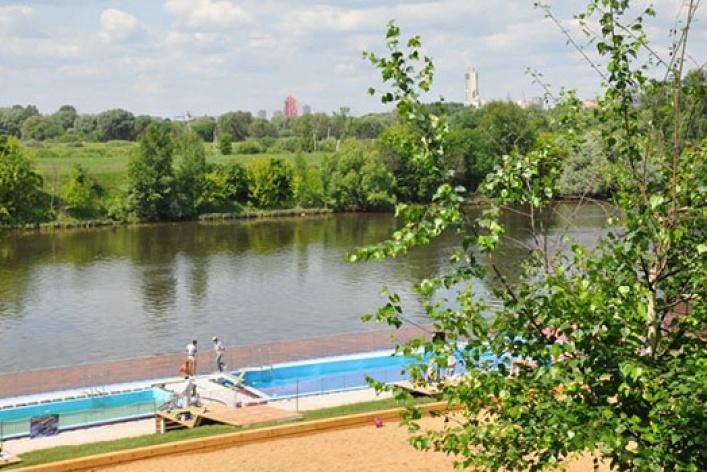 5главных открытых бассейнов Москвы